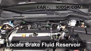 2003-2007 Honda Accord Brake Fluid Level Check