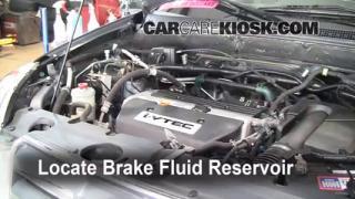 2002-2006 Honda CR-V Brake Fluid Level Check