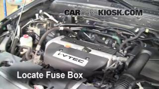 Blown Fuse Check 2002-2006 Honda CR-V