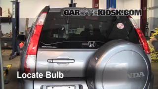 Third Brake Light Bulb Change Honda CR-V (2002-2006)