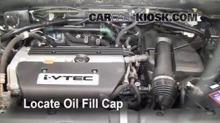 How to Add Oil Honda CR-V (2002-2006)