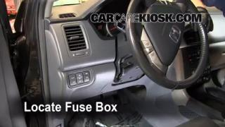 2003 2008 honda pilot interior fuse check. Black Bedroom Furniture Sets. Home Design Ideas