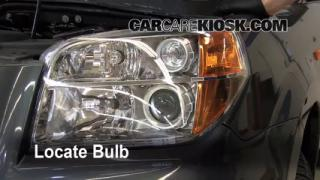 Headlight Change 2003-2008 Honda Pilot
