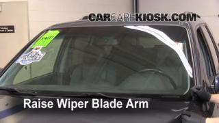 Front Wiper Blade Change Honda Pilot (2003-2008)