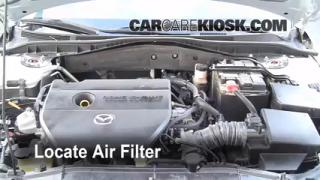 2003-2008 Mazda 6 Engine Air Filter Check
