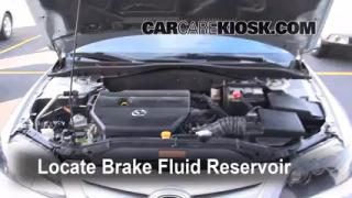 2003-2008 Mazda 6 Brake Fluid Level Check