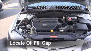 How to Add Oil Mazda 6 (2003-2008)