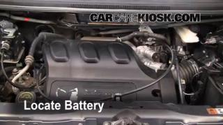 Battery Replacement: 2000-2006 Mazda MPV