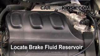 2000-2006 Mazda MPV Brake Fluid Level Check