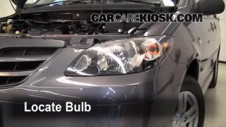 Parking Light Change 2000-2006 Mazda MPV