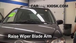 Front Wiper Blade Change Mazda MPV (2000-2006)