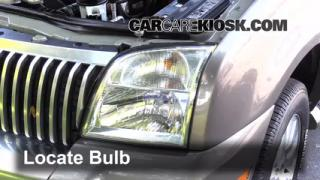 Headlight Change 2002-2010 Mercury Mountaineer
