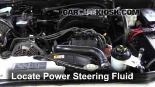 Check Power Steering Level Mercury Mountaineer (2002-2010)