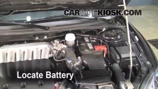 Battery Replacement: 2006-2012 Mitsubishi Eclipse