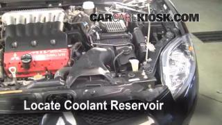 Coolant Level Check: 2006-2012 Eclipse