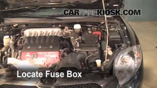 Replace a Fuse: 2006-2012 Mitsubishi Eclipse