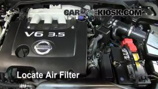 Air Filter How-To: 2002-2006 Nissan Altima