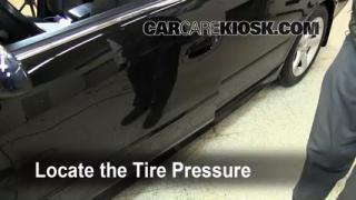 Properly Check Tire Pressure: Nissan Altima (2002-2006)