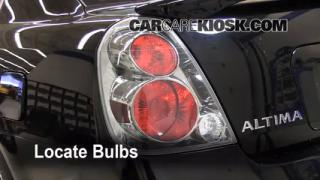 Tail Light Change 2002-2006 Nissan Altima