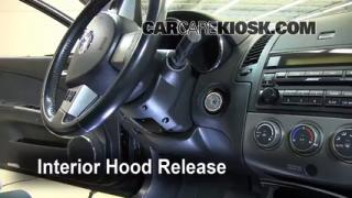 Open Hood How To 2002-2006 Nissan Altima