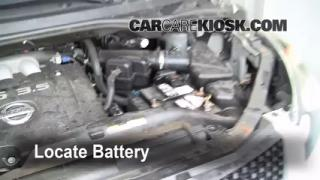 Battery Replacement: 2004-2009 Nissan Quest
