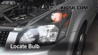Highbeam (Brights) Change: 2004-2009 Nissan Quest