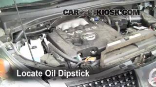 Check Oil Level 2004-2009 Nissan Quest
