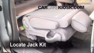 2004-2009 Nissan Quest Jack Up How To