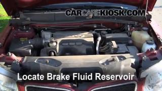 Add Brake Fluid: 2006-2009 Pontiac Torrent