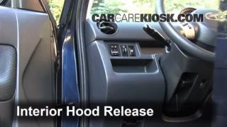 Open Hood How To 2006-2011 Chevrolet HHR