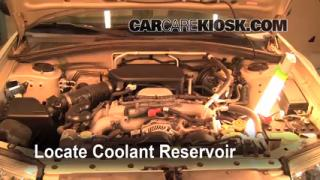 Coolant Level Check: 2006-2008 Forester