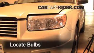 Parking Light Change 2006-2008 Subaru Forester