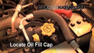 How to Add Oil Subaru Forester (2003-2008)