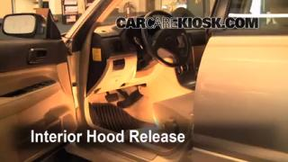 Open Hood How To 2003-2008 Subaru Forester