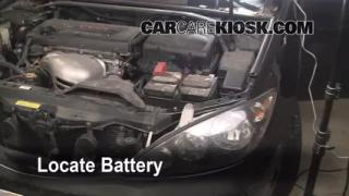 Battery Replacement: 2002-2006 Toyota Camry