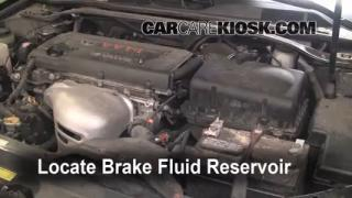 Add Brake Fluid: 2002-2006 Toyota Camry