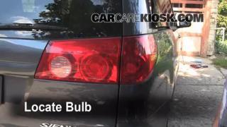 Brake Light Change 2004-2010 Toyota Sienna