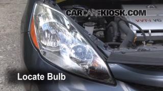 Parking Light Change 2004-2010 Toyota Sienna
