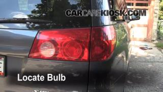 Reverse Light Replacement 2004-2010 Toyota Sienna