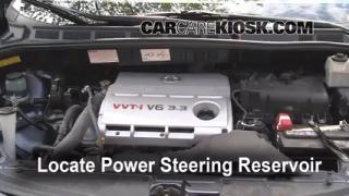 Follow These Steps to Add Power Steering Fluid to a Toyota Sienna (2004-2010)