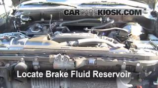 Add Brake Fluid: 2000-2006 Toyota Tundra