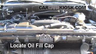 How to Add Oil Toyota Tundra (2000-2006)