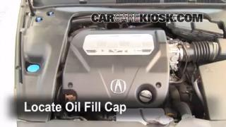 How to Add Oil Acura TL (2004-2008)