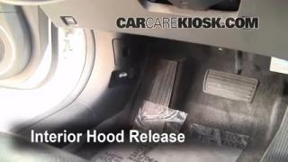 Open Hood How To 2004-2008 Acura TL