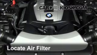 Oil & Filter Change BMW 750Li (2002-2008) - 2007 BMW 750Li ...