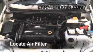 2007-2011 Chevrolet Aveo5 Engine Air Filter Check