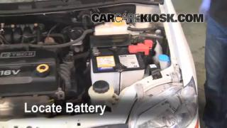 Battery Replacement: 2007-2011 Chevrolet Aveo5