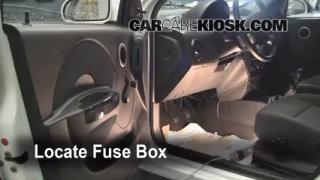 2007-2011 Chevrolet Aveo5 Interior Fuse Check