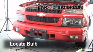 Highbeam (Brights) Change: 2004-2012 Chevrolet Colorado