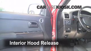 Open Hood How To 2004-2012 Chevrolet Colorado